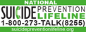 Link - Suicide Prevention Lifeline Website